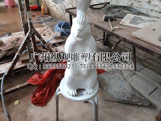 玻璃钢卡通小动物_广州雕塑工艺厂-雕塑设计制作公司