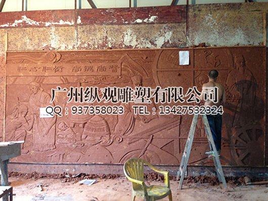 制作雕塑泥稿的流程_广州雕塑工艺厂-雕塑设计制作